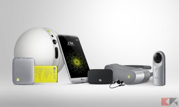 LG G5 e LG Friends