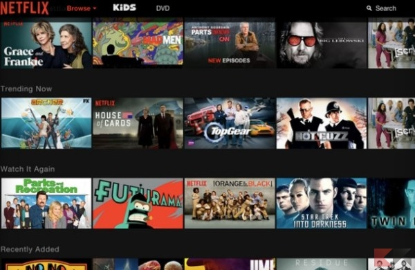 Netflix caotico