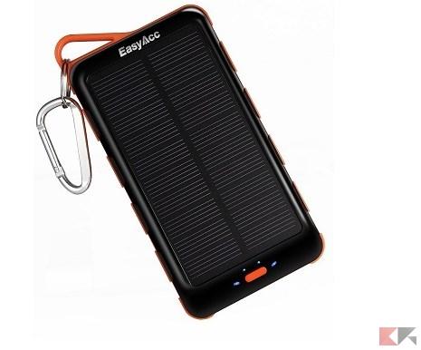 Powerbank a pannelli solari