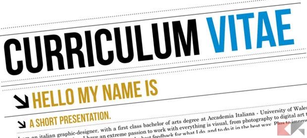 Compilare curriculum vitae online: i migliori siti