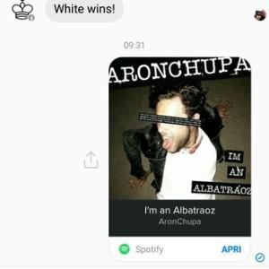 messenger inviato risultato