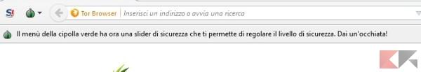 tor browser sicurezza