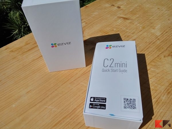 EZVIZ C2 mini box