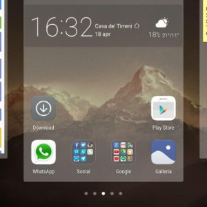 Huawei P9 - screenshot