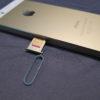 IPhone sim slot
