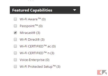 Compatibilit miracast effettuiamo la verifica su device for Sinonimo sfruttare