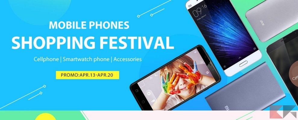 Mobile Phones Shopping Festival GearBest