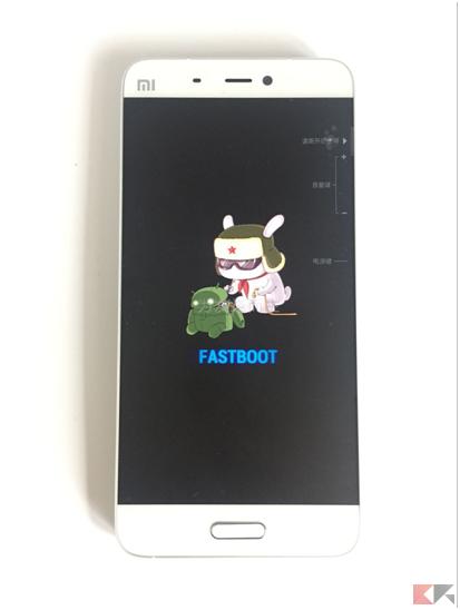 Xiaomi Mi 5 - fastboot