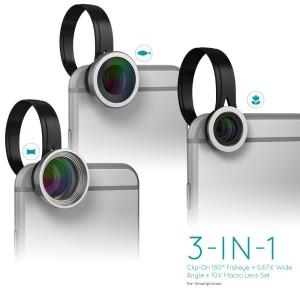 dodocool 3 in 1 Clip On obbiettivi smartphone 3