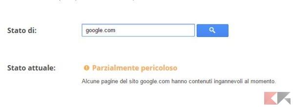 google-pericoloso