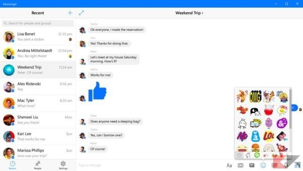 messenger-w10_risultato