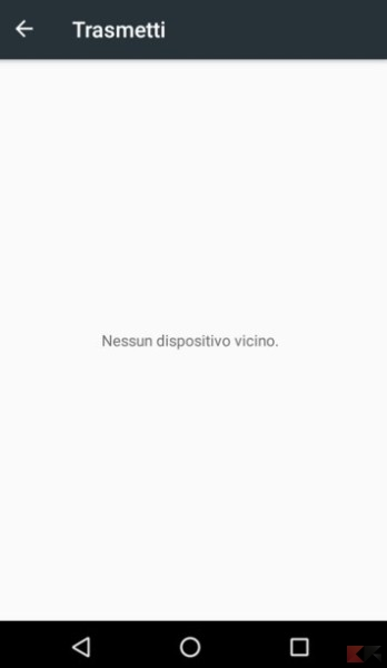 nessun dispositivo Miracast