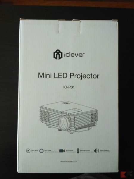 iClever IC-P01 Mini Proiettore Video