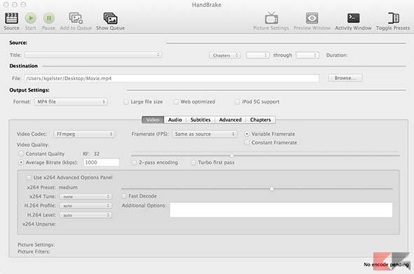 slide1_mac - Convertire MKV in MP4