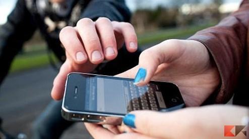 smartphone rubato