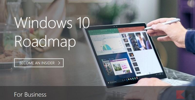 windows 10 roadmap