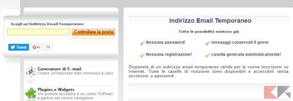 Creare email temporanea: i migliori servizi - ChimeraRevo