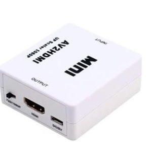 Adattatore convertitore da RCA AV to hdmi Audio posteriore