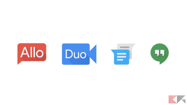 Allo Duo Messenger Hangouts