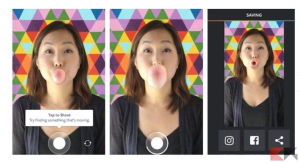 Boomerang di Instagram