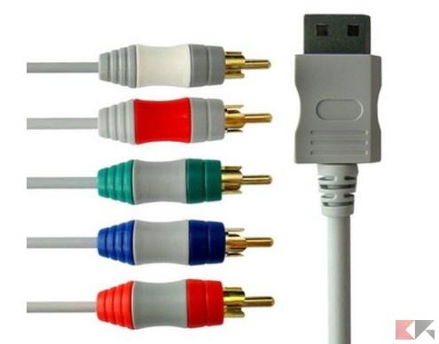 Cavo AV Component HD per Nintendo Wii _ U-Wii_ Amazon.it_ Elettronica