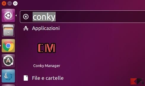 widget su Ubuntu 16.04