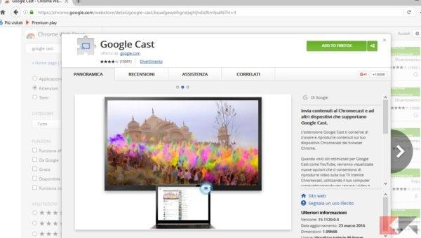 Google Cast Firefox