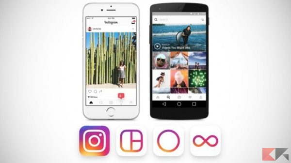 Instagram nuovo layout