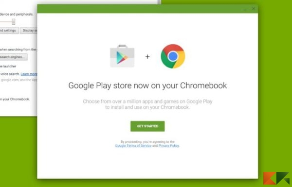 Play Store in Chrome OS