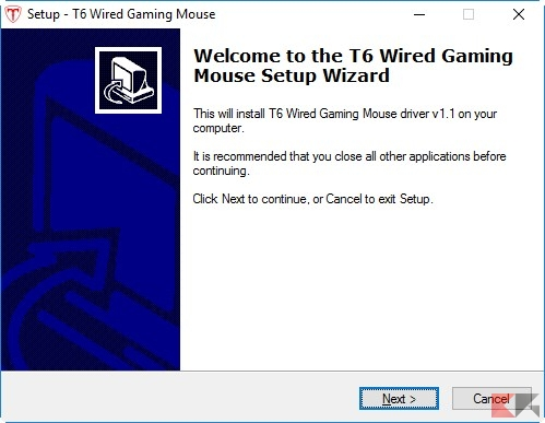 T6 mouse gaming install