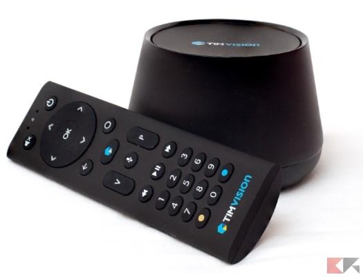 TIMvision con il sistema Android TV