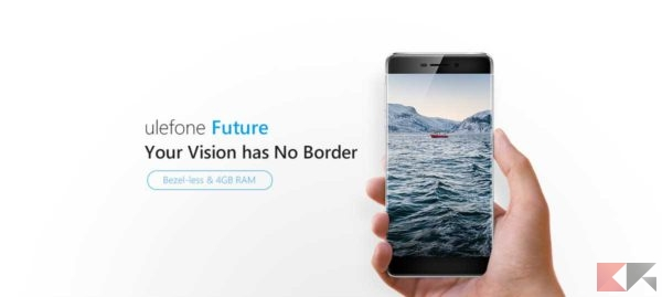 Ulefone Future bordi