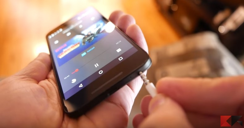 audio via smartphone Chromecast