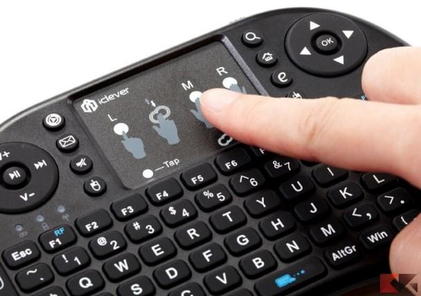 iClever® IC RF02 Mini Tastiera