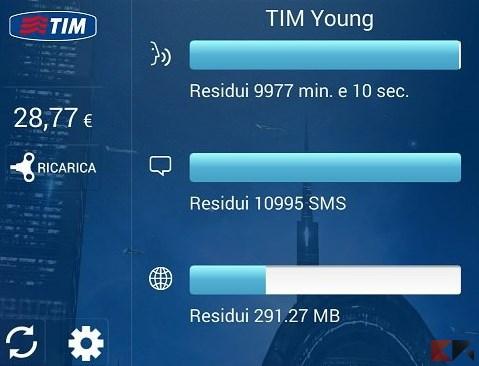 mytim mobile widget