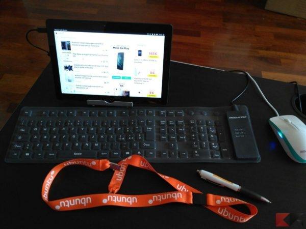 Recensione Bq Aquaris M10 Ubuntu Edition