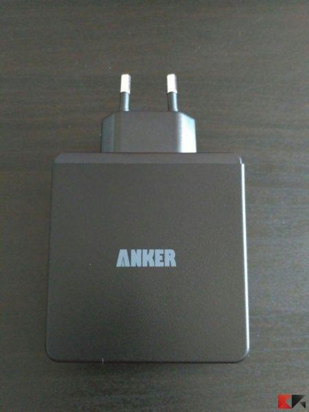 Anker Caricatore da Parete a 4 porte