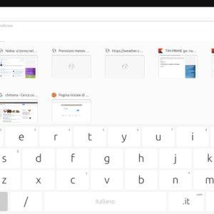 tab browser risultato