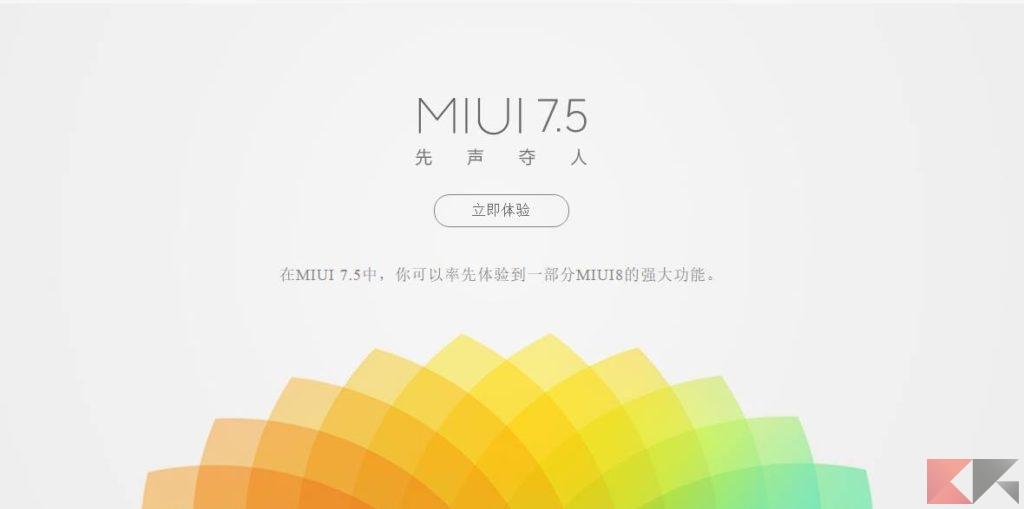MIUI 7.5