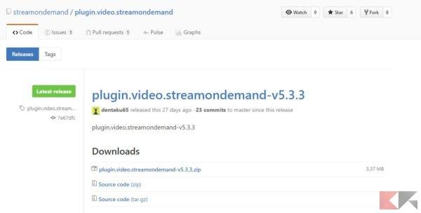 kodi stream on demand github