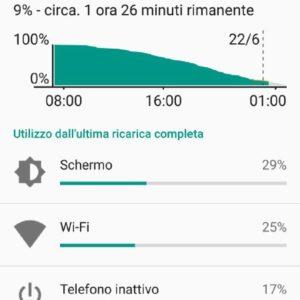 UMI Super screen 1 batteria