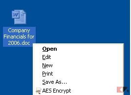 Using AES Crypt Advanced File Encryption for Windows