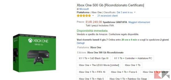 Xbox One 500 Gb [Ricondizionato Certificato]_ Amazon.it_ Videogiochi