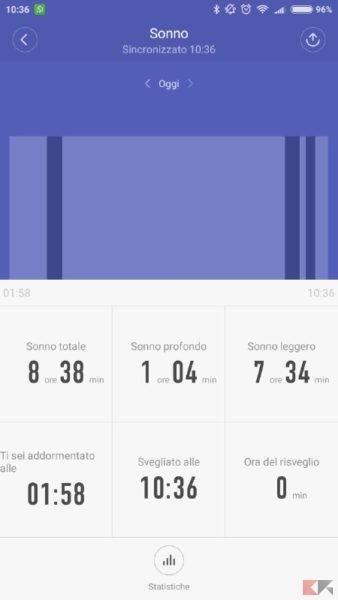 Xiaomi Mi Band 2 (screenshot)