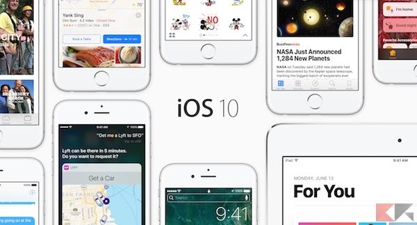 iOS 10 rilasciato: novità, download e… problemi!