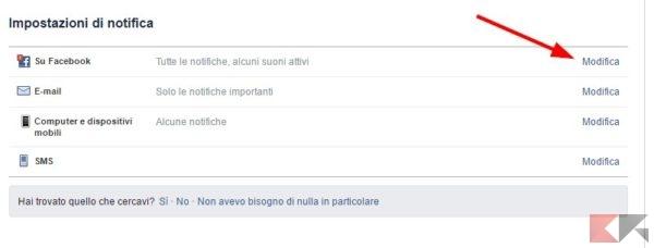 bloccare le notifiche delle dirette live di Facebook