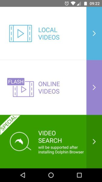video in Flash su Android