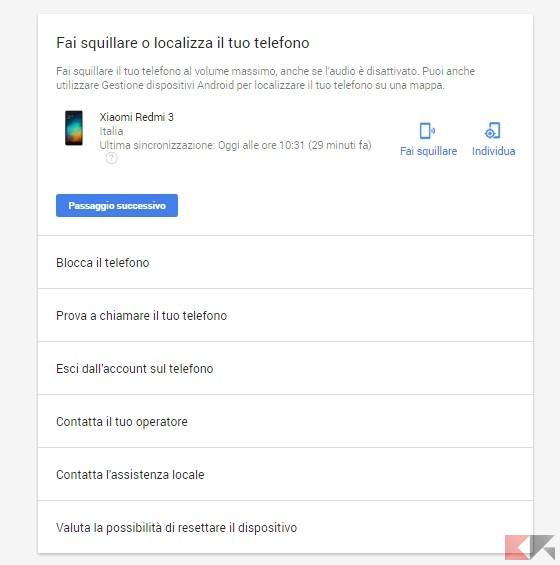 trova-telefono-3 - smartphone rubato