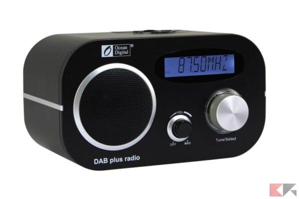2017 01 26 10 04 47 Ocean Digital DB80 DAB DAB FM Radio musica schermo ufficio in legno giocator