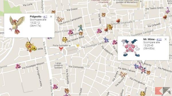 live map screen